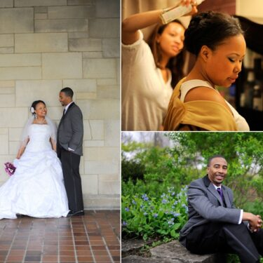 urban wedding at the university of chicago