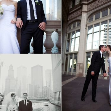 intimate chicago wedding at a new leaf