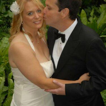 outdoor wedding at garfield park conservatory