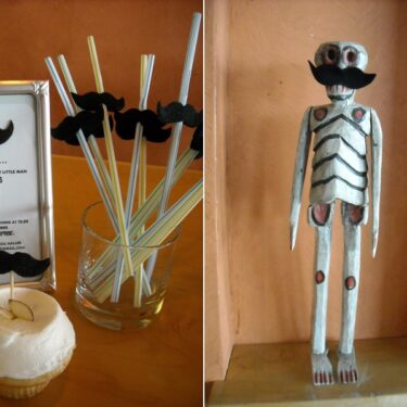 DIY idea for boy baby shower.