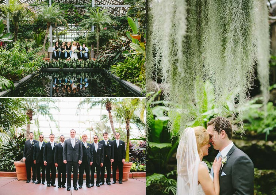 Garfield Park Conservatory Wedding.Natural Wedding At Garfield Park Conservatory Anticipation Events