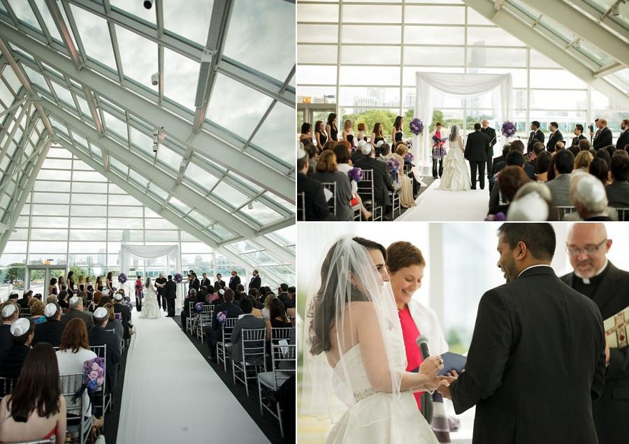 elegant chicago wedding at adler planetarium  - anticipation