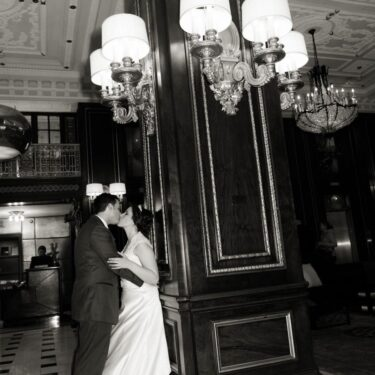 michigan avenue wedding at the blackstone hotel