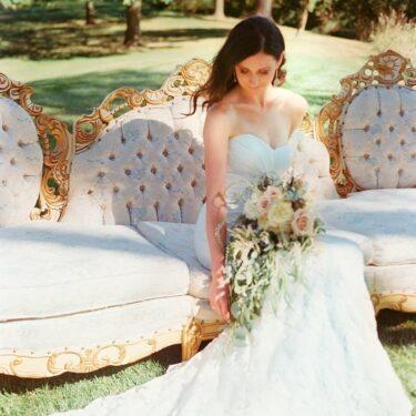 tented destination wedding in iowa