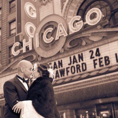 chicago loft wedding at prairie production