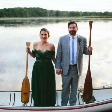 DIY camp wedding at camp wandawega