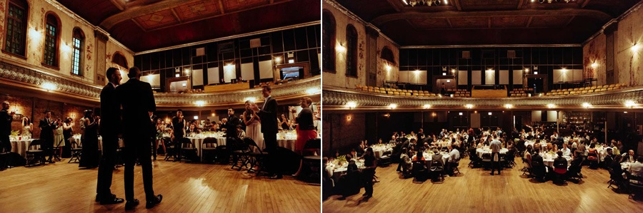 gay wedding at thalia hall chicago