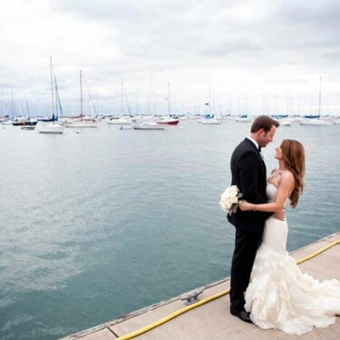 elegant lakeside wedding at the chicago yacht club