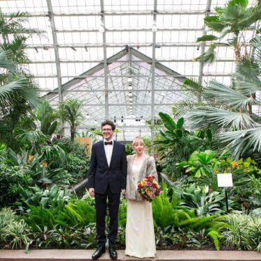 urban elegance bridgeport art center wedding