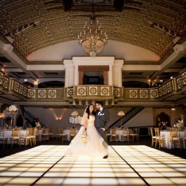 glamorous millennium knickerbocker hotel wedding