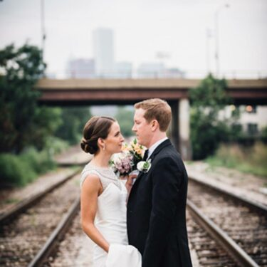 classically gorgeous bridgeport art center wedding