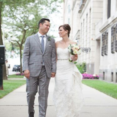 casually elegant ovation chicago wedding