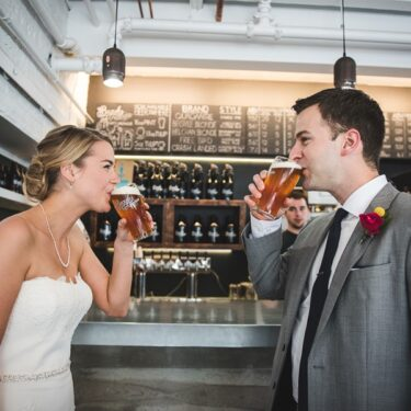 a fun-filled ravenswood event center wedding