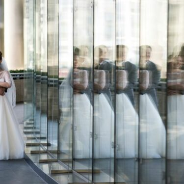 classic downtown wedding at howells & hood