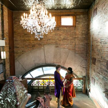 eclectic, vintage wedding at thalia hall
