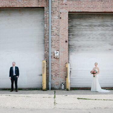 fun and fearless wedding at lacuna artist lofts