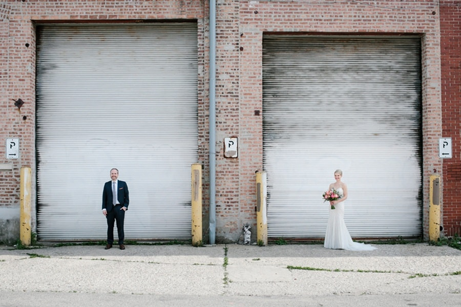 wedding at lacuna artist lofts