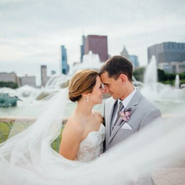 waterside wedding at shedd aquarium