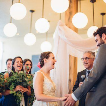 delightfully sweet wedding at the publican