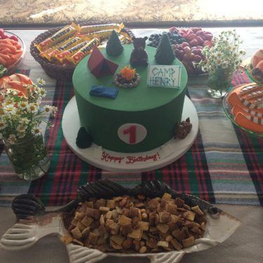 welcome to camp henry! camp-themed party ideas