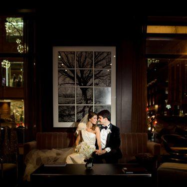 glamorous winter wedding at the park hyatt