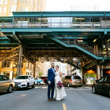 quintessential chicago wedding at harold washington library