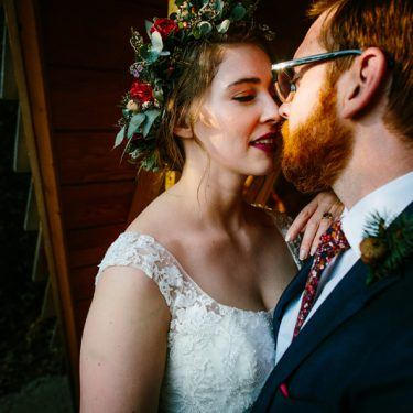 ethereal woodsy wedding at camp wandawega