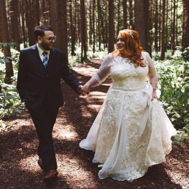 quirky outdoor wedding at the morton arboretum