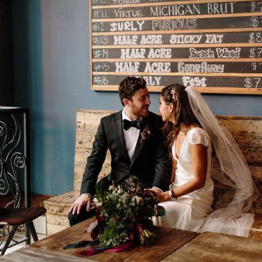 elegant and fun-filled thalia hall wedding