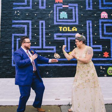 Mexican-inspired DIY wedding at trigger chicago