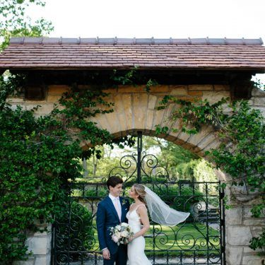 backyard wedding in winnetka