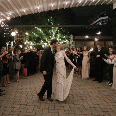 bohemian vibe wedding at galleria marchetti
