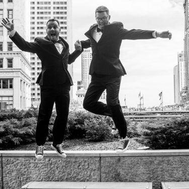 epic chicago wedding at river roast