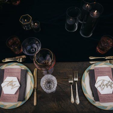 setting the perfect dinner party table