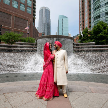 indian fusion wedding at artifact events