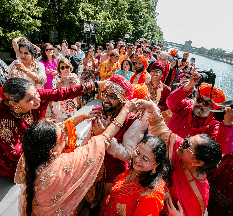 baraat on a boat