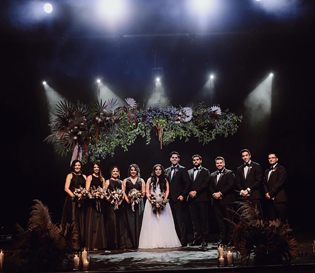 thalia hall wedding party