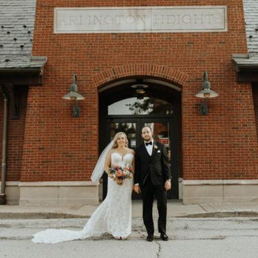 intimate pandemic wedding in arlington heights