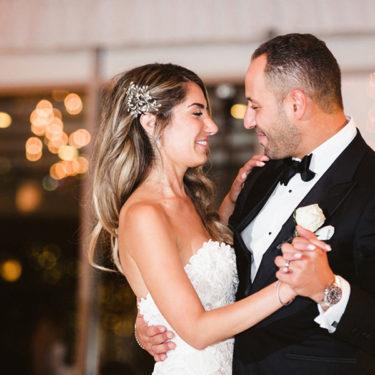 glamorous assyrian and palestinian wedding at galleria marchetti