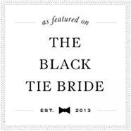 blacktiebride